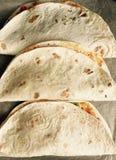Tortilla wrap snack Stock Photography