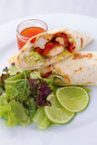 Tortilla Wrap Royalty Free Stock Image