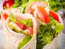 Tortilla wrap Royalty Free Stock Photos
