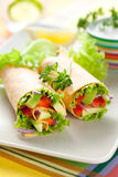 Tortilla wraps Royalty Free Stock Photography