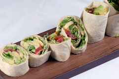 Tortilla wraps Royalty Free Stock Photo