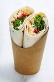 Tortilla wraps Stock Photography