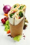 Tortilla wraps stock images