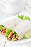 Tortilla wraps Stock Photos