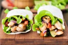 Tortilla wraps Stock Photos