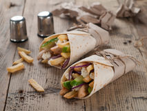Tortilla wraps Stock Photography