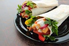 Tortilla wraps Royalty Free Stock Image