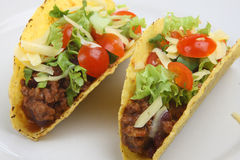 tortillas говядины Стоковая Фотография
