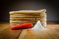 tortillas fotos de archivo libres de regalías