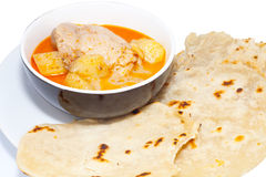 Tortillas with curry Royalty Free Stock Photo