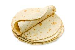 Tortillas de farine Photos stock