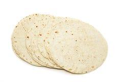Tortillas de la harina foto de archivo
