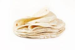Tortillas de la harina imagen de archivo libre de regalías