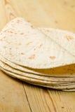 Tortillas de la harina fotografía de archivo