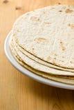 Tortillas de la harina imágenes de archivo libres de regalías