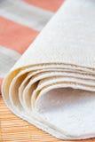Tortillas del trigo Imagenes de archivo