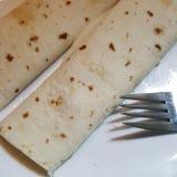 Tortillas en una placa Foto de archivo