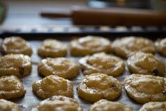 Tortillas na tacy Zdjęcia Stock