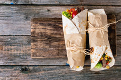 Tortillas and nachos Royalty Free Stock Images