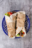 Tortillas and nachos Royalty Free Stock Photography