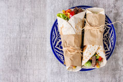 Tortillas and nachos Stock Images