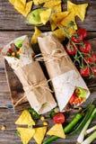 Tortillas and nachos Royalty Free Stock Image