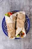 Tortillas und Nachos Lizenzfreie Stockfotografie