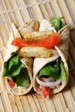 Tortillas vegetales Fotografía de archivo libre de regalías
