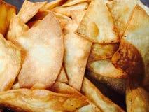 Tortillaspaanders Royalty-vrije Stock Afbeelding