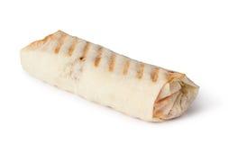 Tortillaverpackung, Fajita Lizenzfreie Stockfotos