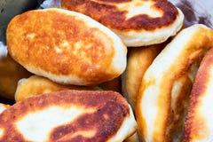 Tortini con le patate Fotografia Stock