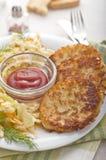 Tortini della patata - Rösti immagini stock