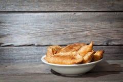 Tortini fritti Immagini Stock