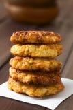 Tortini o frittelle del riso fotografia stock