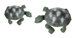 Tortoise Figurines Stock Photo