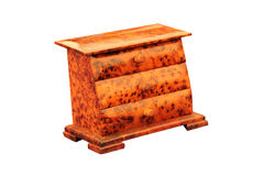 Tortoise Shell Drawers. Royalty Free Stock Images