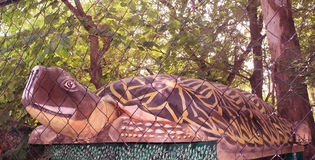 Tortoise statue Stock Image