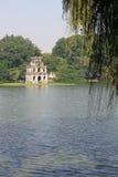 The Tortoise tower at Hoan Kiem Lake, Hanoi, Vietnam - Series 2 Stock Images