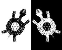 tortoises dwa Obraz Royalty Free