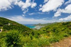 Tortola aerial Stock Image