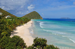 Tortola Beach Scene Royalty Free Stock Photos
