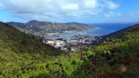 Tortola Cruise terminal 2013 Royalty Free Stock Image
