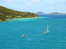 Tortola harbour Royalty Free Stock Photography