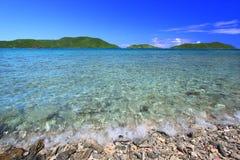 Tortola hermoso (BVI) Foto de archivo