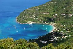 Tortola Island Beaches Stock Photography