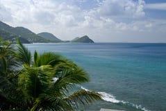 Tortola island scenery  Royalty Free Stock Image
