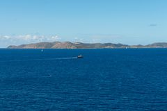 Tortolakustlijn royalty-vrije stock foto