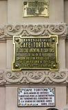 Tortoni Cafe Buenos Aires Argentina Stock Photos