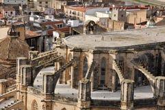 Tortosa Cathedral, Tarragona (Spain) Royalty Free Stock Photography