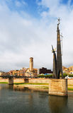 Tortosa. Monument to the Battle of the Ebro Royalty Free Stock Image